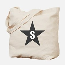 Letter in a Star Tote Bag
