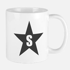 Letter in a Star Mugs