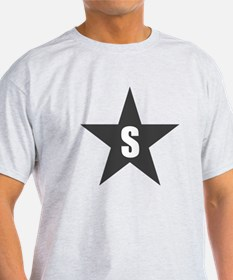 Letter in a Star T-Shirt
