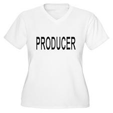 Producer Women's V-Neck Plus Size T-Shirt