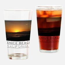 Venice Beach Sunset king size Drinking Glass