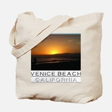 Venice Beach Sunset king size Tote Bag