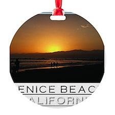Venice Beach Sunset king size Ornament