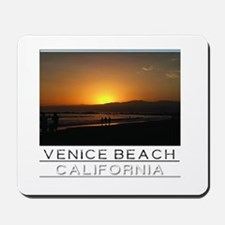 Venice Beach Sunset king size Mousepad