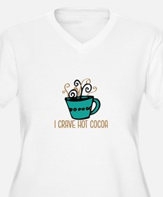 Hot Cocoa Plus Size T-Shirt