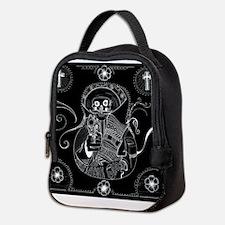 Funny Mariachi Neoprene Lunch Bag
