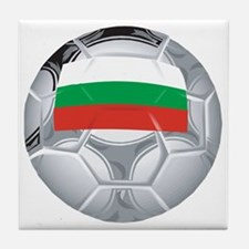 Bulgaria Football Tile Coaster