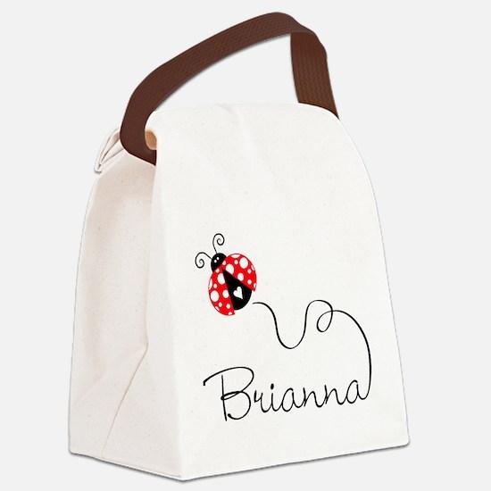 Ladybug Brianna Canvas Lunch Bag