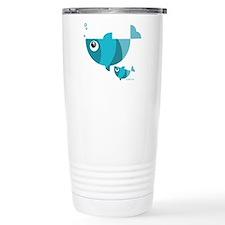 Fishes Travel Coffee Mug