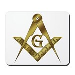 Master Masons Golden Square and Compasses Mousepa