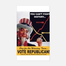 Be Rich: Vote Republican Decal