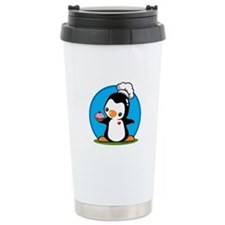 Cooking Penguins Travel Mug