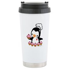 Cooking Penguins Travel Mug