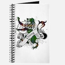 Young Tartan Lion Journal