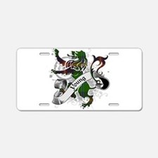 Young Tartan Lion Aluminum License Plate