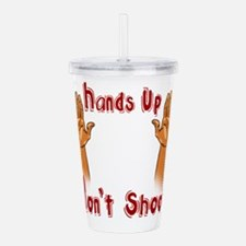 Hands Up! Acrylic Double-wall Tumbler