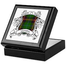 Young Tartan Shield Keepsake Box
