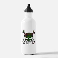 Young Tartan Skull Sports Water Bottle