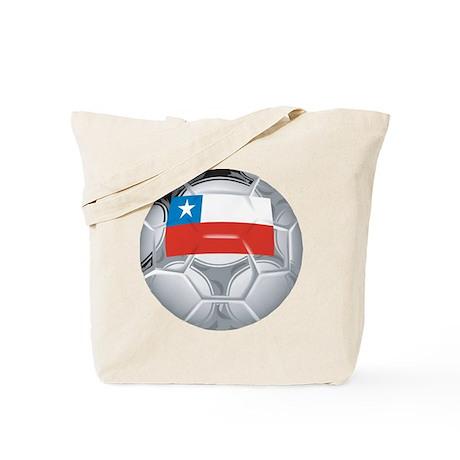 Chile Football Tote Bag