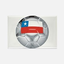 Chile Football Rectangle Magnet