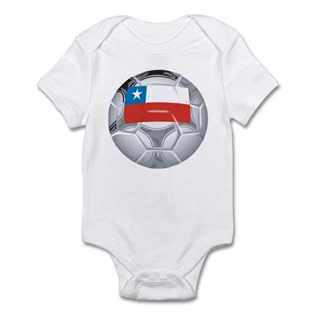 Chile Football Infant Bodysuit