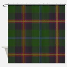 Young Tartan Shower Curtain