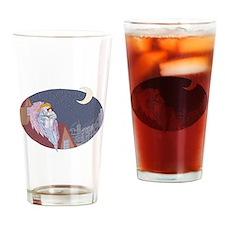 bedtime storybigbig Drinking Glass