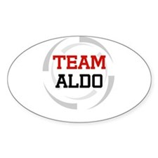 Aldo Oval Decal