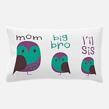 Owl Family Pillow Case