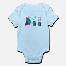 Owl Family Body Suit