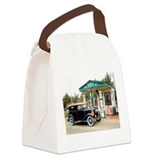 Cute Ford model a Canvas Lunch Bag