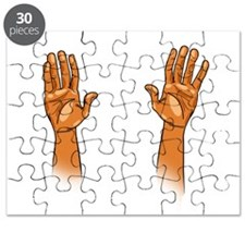 Hands Up! Puzzle