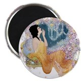Art deco magnet 10 Pack
