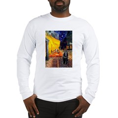 Cafe & Schipperke Long Sleeve T-Shirt
