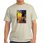 Cafe & Schipperke Light T-Shirt