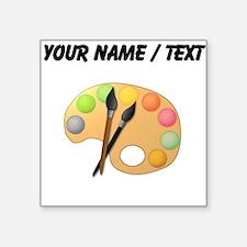 Custom Paint Easel Sticker
