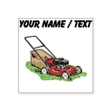Custom Lawnmower Sticker