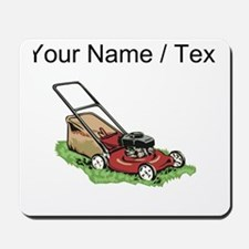 Custom Lawnmower Mousepad
