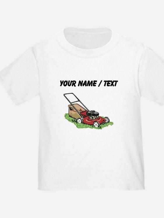 Custom Lawnmower T-Shirt