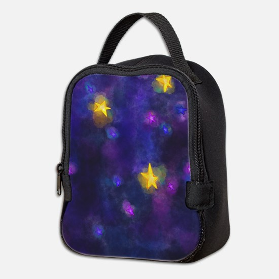 Unique Wishing angels Neoprene Lunch Bag