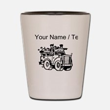 Custom Garbage Truck Shot Glass