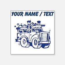 Custom Garbage Truck Sticker
