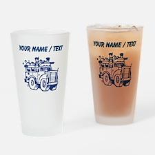 Custom Garbage Truck Drinking Glass