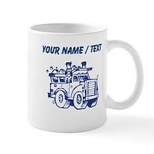 Custom Garbage Truck Mugs