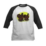 Red Silkies Kids Baseball Jersey
