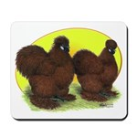 Red Silkies Mousepad