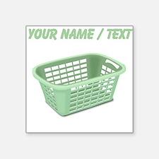 Custom Laundry Basket Sticker