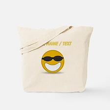 Custom Cool Smiley Face Tote Bag
