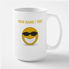 Custom Cool Smiley Face Mugs
