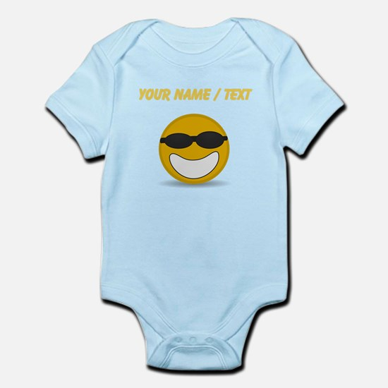 Custom Cool Smiley Face Body Suit